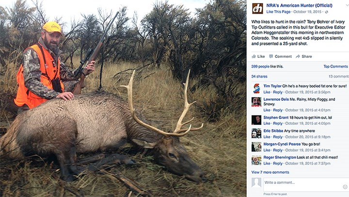Are 'Friends' Outing Hunters on Facebook?