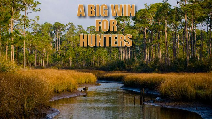 USFWS Opens 1.4 Million Acres to Hunting and Fishing
