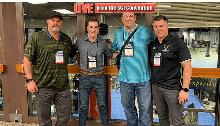 MLB and NFL Standouts Stand Up for Hunting at SCI Show
