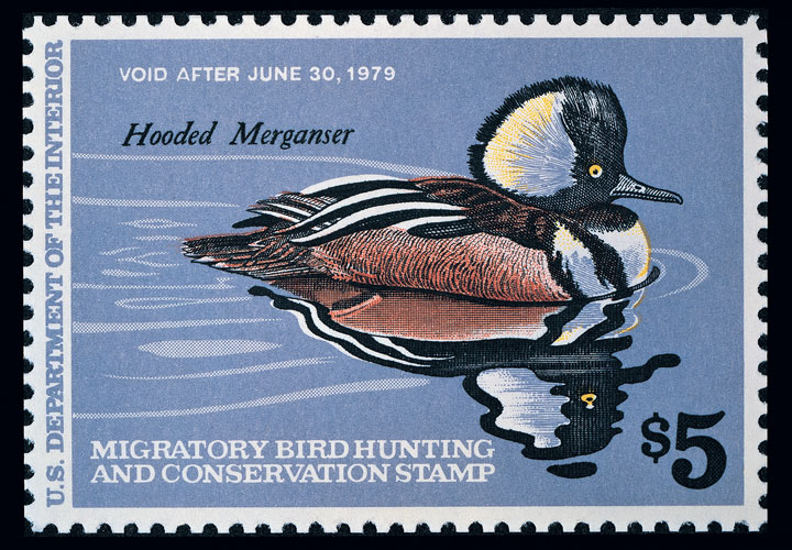 The Federal Duck Stamp has become a collector's item over the its 80-year span. Even non-hunters get in on the waterfowl conservation and wildlife restoration efforts by buying the Duck Stamps.