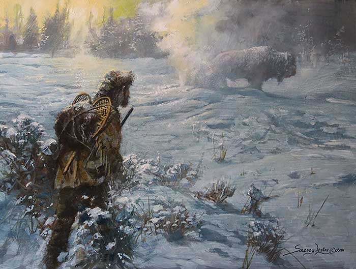 """""""Colter's Hell"""" is the story of a real mountain man who began his career with the Lewis and Clark expedition. Read his story at Sporting Classics Daily. (Courtesy of www.Seerey-Lester.com.)"""