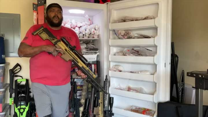 """Former U.S. Army Infantryman Omar """"Crispy"""" Aliva was severely burned in service to his country. He is a passionate hunter and a is highly supportive of people from all walks of life all over the world who for physical deformity struggle to find peace in their bodies."""