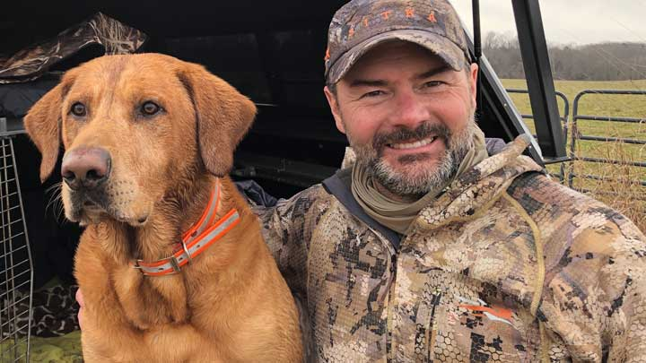 The author suggests taking this time during the coronavirus crisis and shelter-in-place orders to review the fundamentals with your best hunting buddy. (Image courtesy of Peter Churchbourne.)
