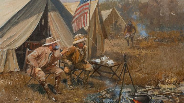 John Seerey-Lester painting