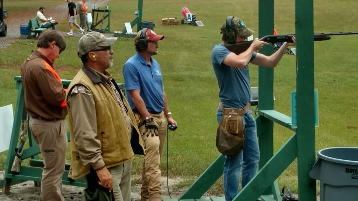 Hunters Support Medical Facility at Sporting Clays Event