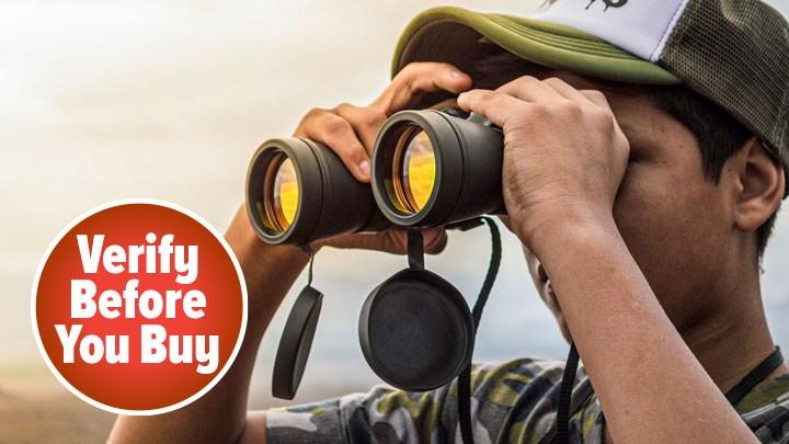 Buyer Beware When Stumbling across 'World's Best Binoculars Revealed!'