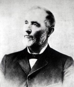 portrait of Henry Miller, Cattle King of California