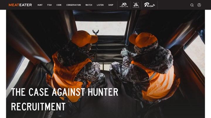 Super Shocker: MeatEater.com Promotes Negative R3 Content