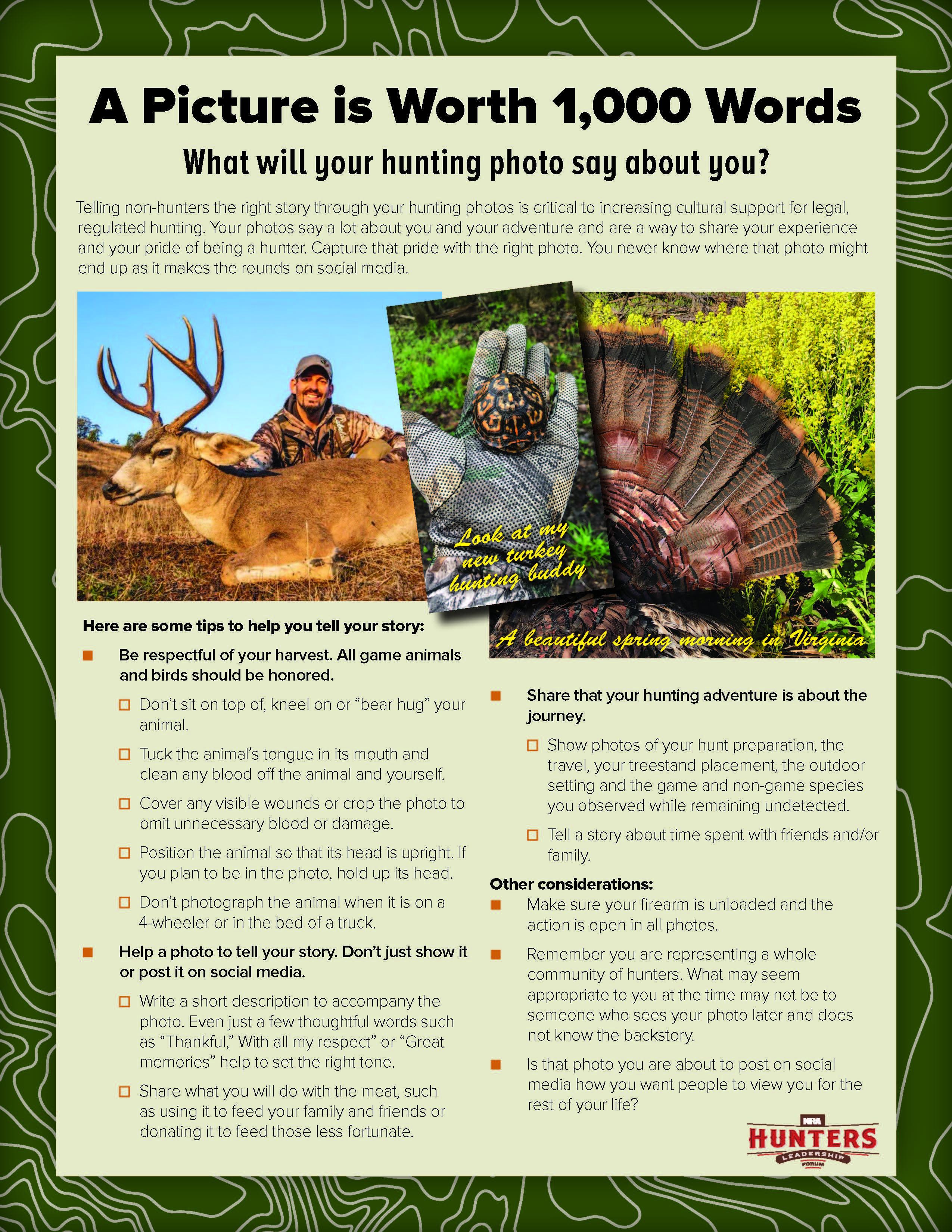 Hunting Photo Considerations