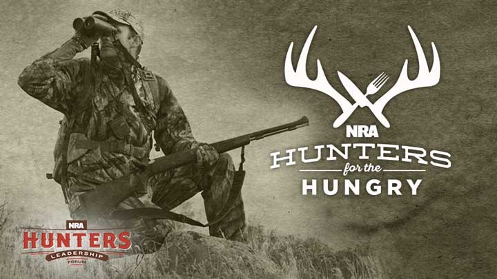 NRA Hunters' Leadership Forum Launches $50,000 in Hunters for the Hungry Program Grants