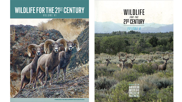 image of report covers from american wildlife conservation partners
