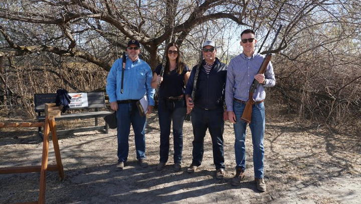 idaho gov. brad little and others celebrate national hunting and fishing day 2021